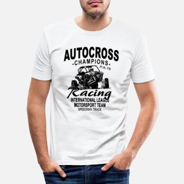 Buggy Autocross - Buggy - 4x4 - Offroad - Männer Slim Fit T-Shirt