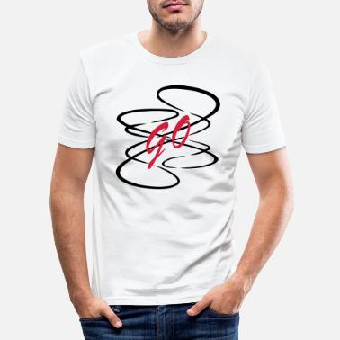 Kurvig Kurva - T-shirt slim fit herr