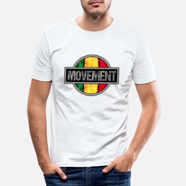 Movement Reggae Movement - Männer Slim Fit T-Shirt