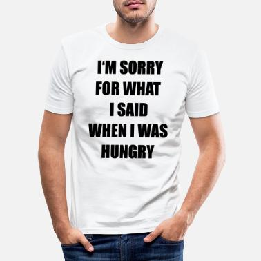 Hungry hungry - Men's Slim Fit T-Shirt