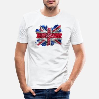 Uk UK Vintage Flag - T-shirt moulant Homme