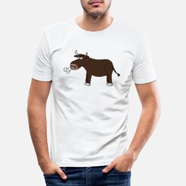 Bull Bull bulls bulls bulls farm - Men's Slim Fit T-Shirt