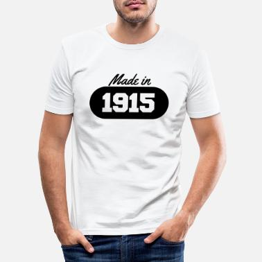 1915 Made in 1915 - Men's Slim Fit T-Shirt