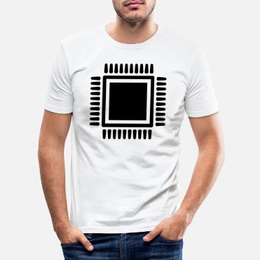Chip chip - Slim fit T-shirt mænd