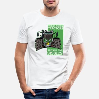 Schland these green tractors are not for missions2 - Men's Slim Fit T-Shirt