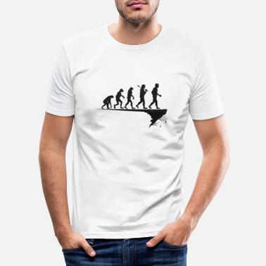 Modern Evolution - Mankind before the abyss - Gift - Men's Slim Fit T-Shirt