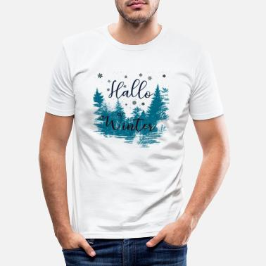 Winter Winter - Männer Slim Fit T-Shirt