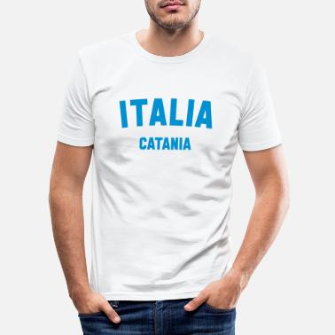 Catania CATANIA - Men's Slim Fit T-Shirt