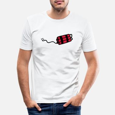 Dynamit Dynamite - Männer Slim Fit T-Shirt