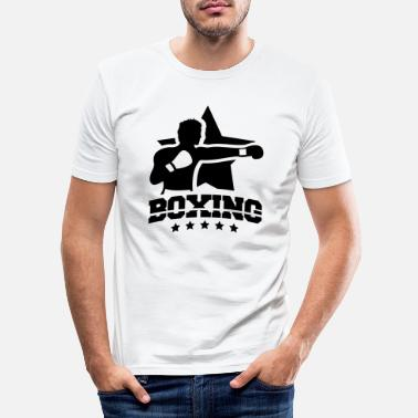 Kö boxing_star_yy1 - Slim fit T-skjorte for menn