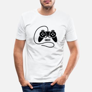 Geek - T-shirt moulant Homme
