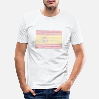 Bandera La bandera de España - Men's Slim Fit T-Shirt