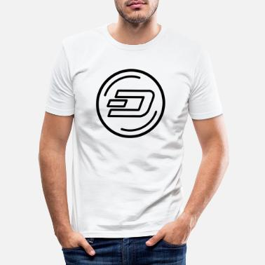 Dash Dash - Men's Slim Fit T-Shirt