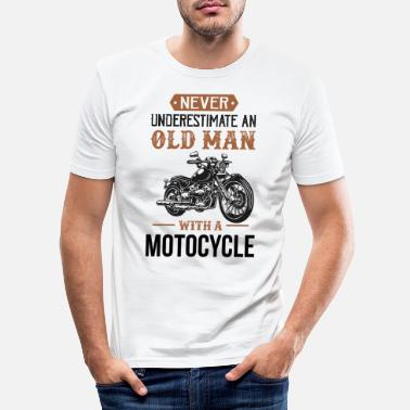 Motorcycle motorcycle - Men's Slim Fit T-Shirt