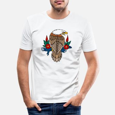 Bald Eagle Bald eagle - Men's Slim Fit T-Shirt