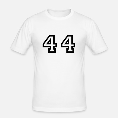 Number 44 Forty Four Premium T shirt mænd | Spreadshirt