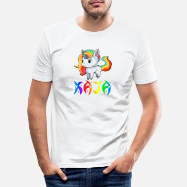 Kaja Kaja unicorn - Men's Slim Fit T-Shirt