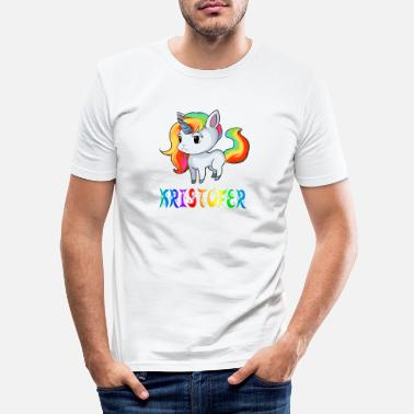 Kristoffer Unicorn Kristofer - Slim fit T-shirt mænd