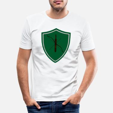 Wapenschild Wapenschild - Mannen slim fit T-shirt