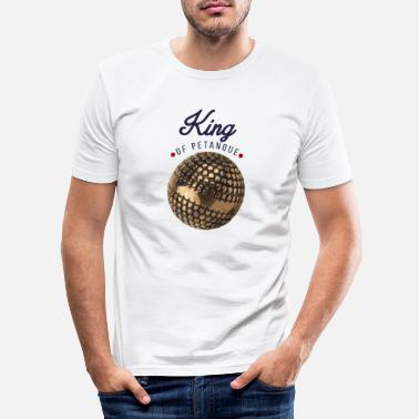 Pétanque king of petanque - T-shirt moulant Homme