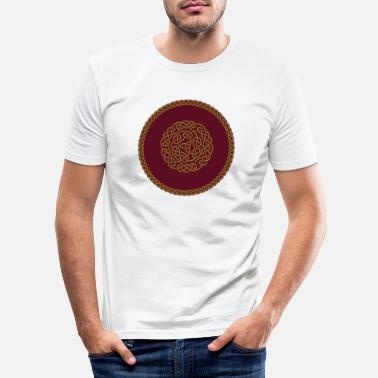 Ornament Celtic Ornament - Männer Slim Fit T-Shirt