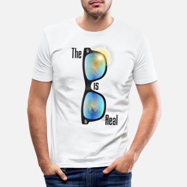 Shade The Shade is real - Men's Slim Fit T-Shirt