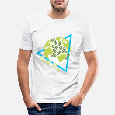 Earth Day Earth Day - Männer Slim Fit T-Shirt