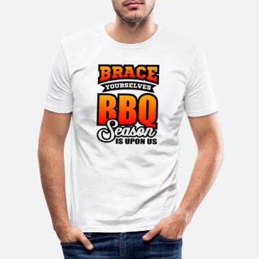Saison Du Barbecue Saison de barbecue - T-shirt moulant Homme