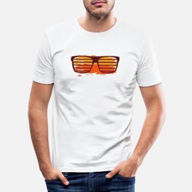 f3085540cd Gafas de sol amarillo naranja - Camiseta ajustada hombre