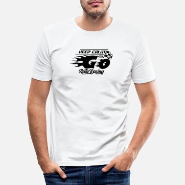 Motor Race motor race - Men's Slim Fit T-Shirt
