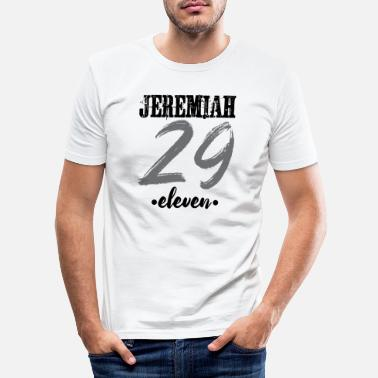 Jeremiah Jeremiah 29:11 - Men's Slim Fit T-Shirt