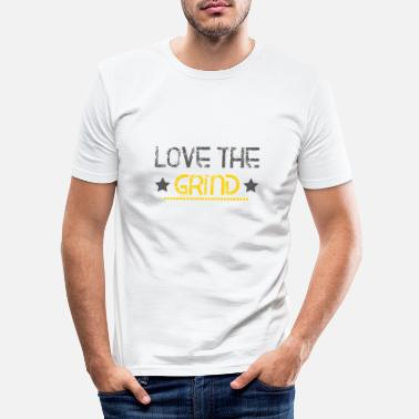 Wealthy Love hustle and bows gift - Men's Slim Fit T-Shirt