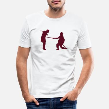 Sword Fight Sword fight eu - Men's Slim Fit T-Shirt