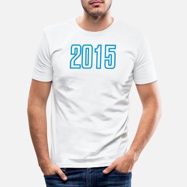 2015 2015 - Men's Slim Fit T-Shirt