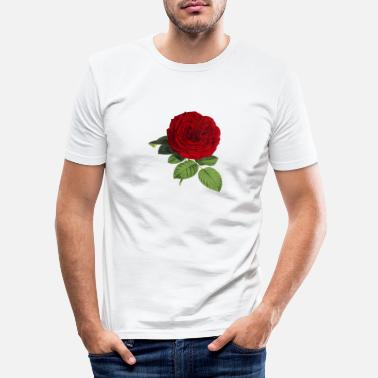 Blume Rose Blume - Men's Slim Fit T-Shirt