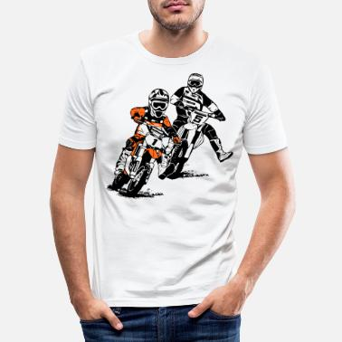 Motocross Kids motocross - KIDS MX - Miesten slim fit t-paita