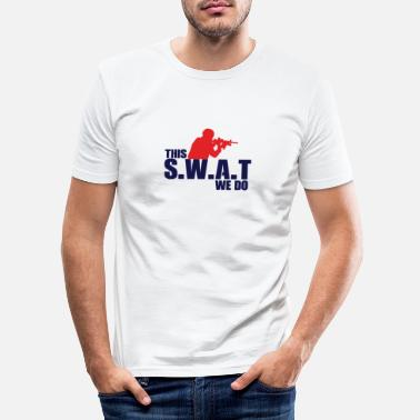 Swat Swat - Männer Slim Fit T-Shirt