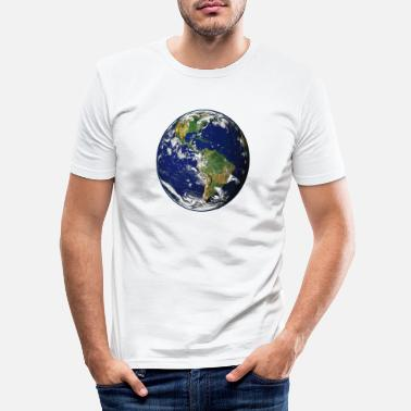Planet Erde Planet Erde - Männer Slim Fit T-Shirt