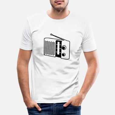Radio radio - Slim fit T-shirt mænd