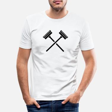 Broom Broom - Men's Slim Fit T-Shirt