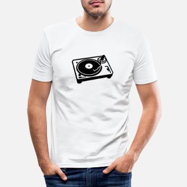 Turntable Turntable - Mannen slim fit T-shirt