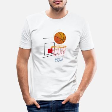 Basket Maker basket - Men's Slim Fit T-Shirt
