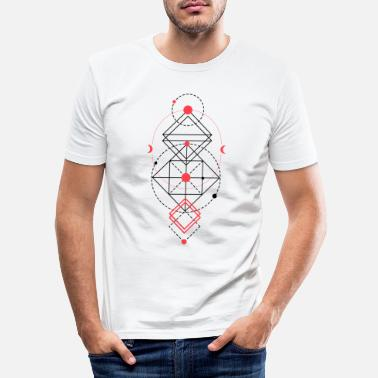 Sacred Geometry Sacred geometry - Men's Slim Fit T-Shirt