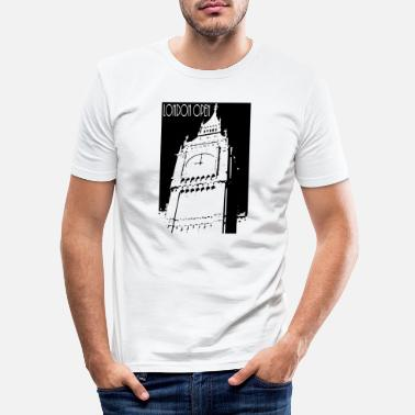 Open London Open - T-shirt slim fit herr