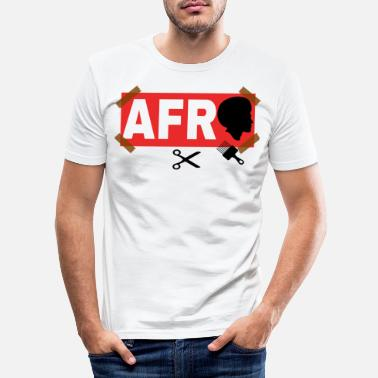 Afro AFRO - Men's Slim Fit T-Shirt