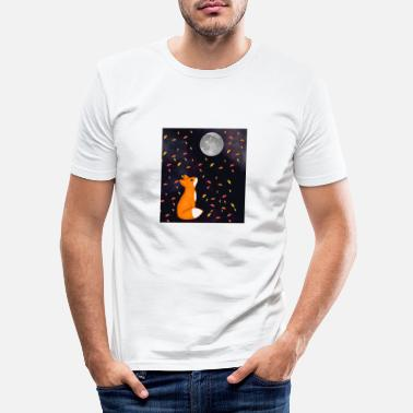 Dream Underwear A fox's dream - Men's Slim Fit T-Shirt