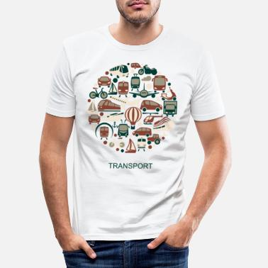 Transport transport - T-shirt moulant Homme