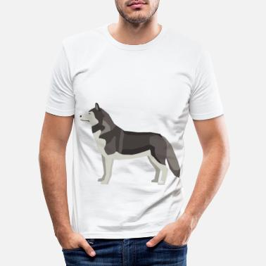 Grey Wolf Grey Wolf - Men's Slim Fit T-Shirt