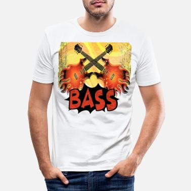 Bassist Bassist bassist - Men's Slim Fit T-Shirt
