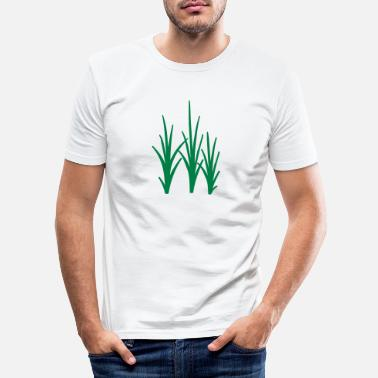 Gras Gras - Männer Slim Fit T-Shirt